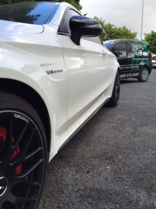 Mercedes AMG C63s stolen car tracker