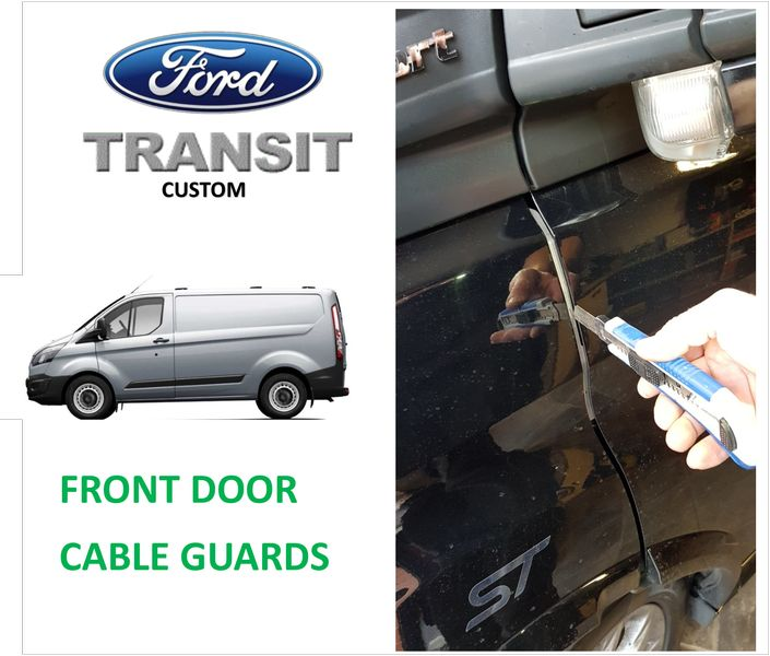 Transit Custom Cable Guard Door Protection Stop Crime