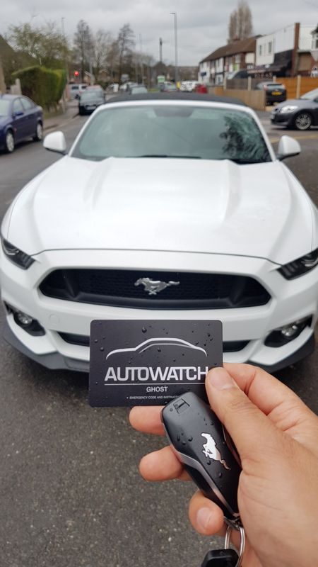 Ford Mustang Autowatch Ghost