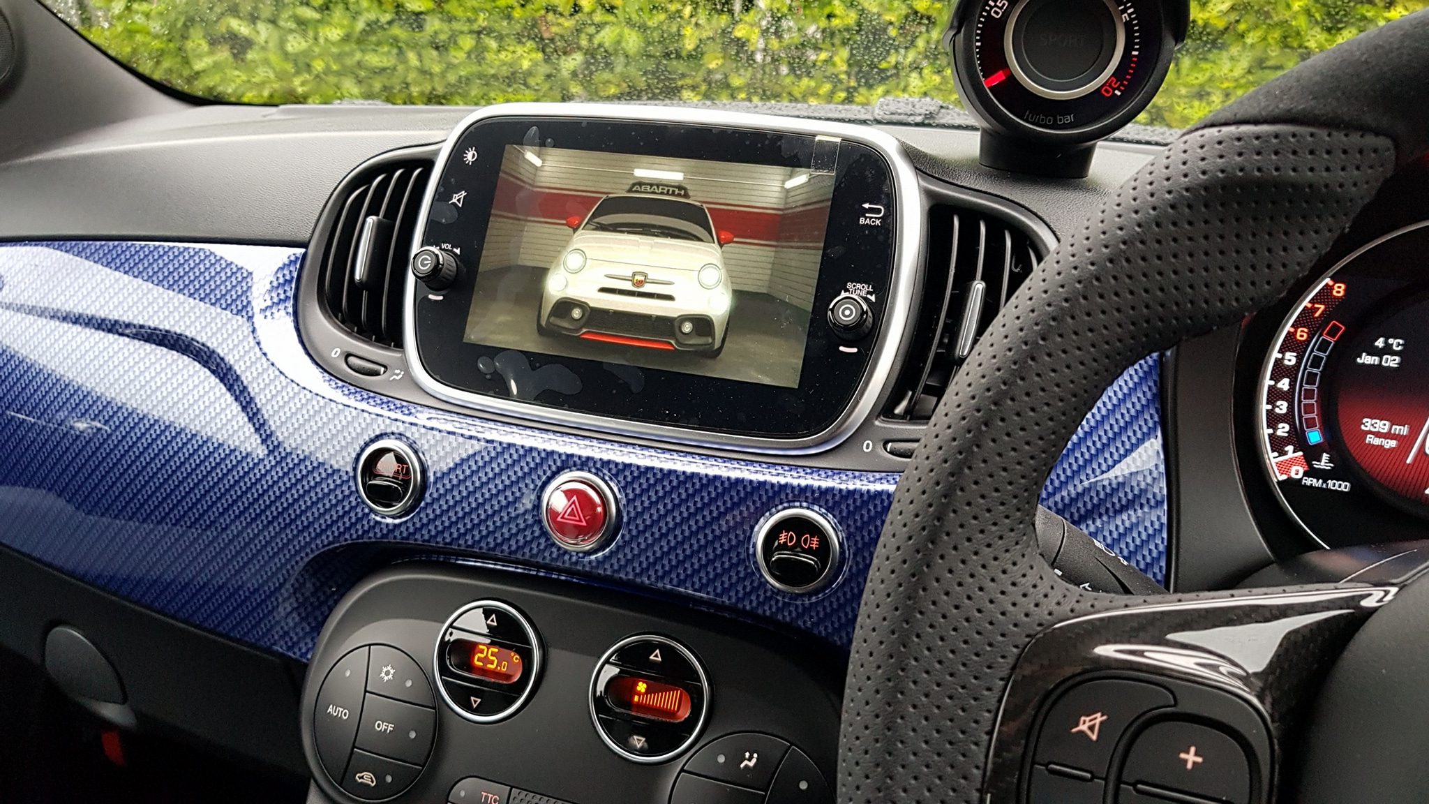 Fiat Abarth Autowatch Ghost