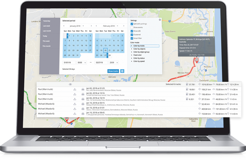 Auto Fleet Go Tracking System