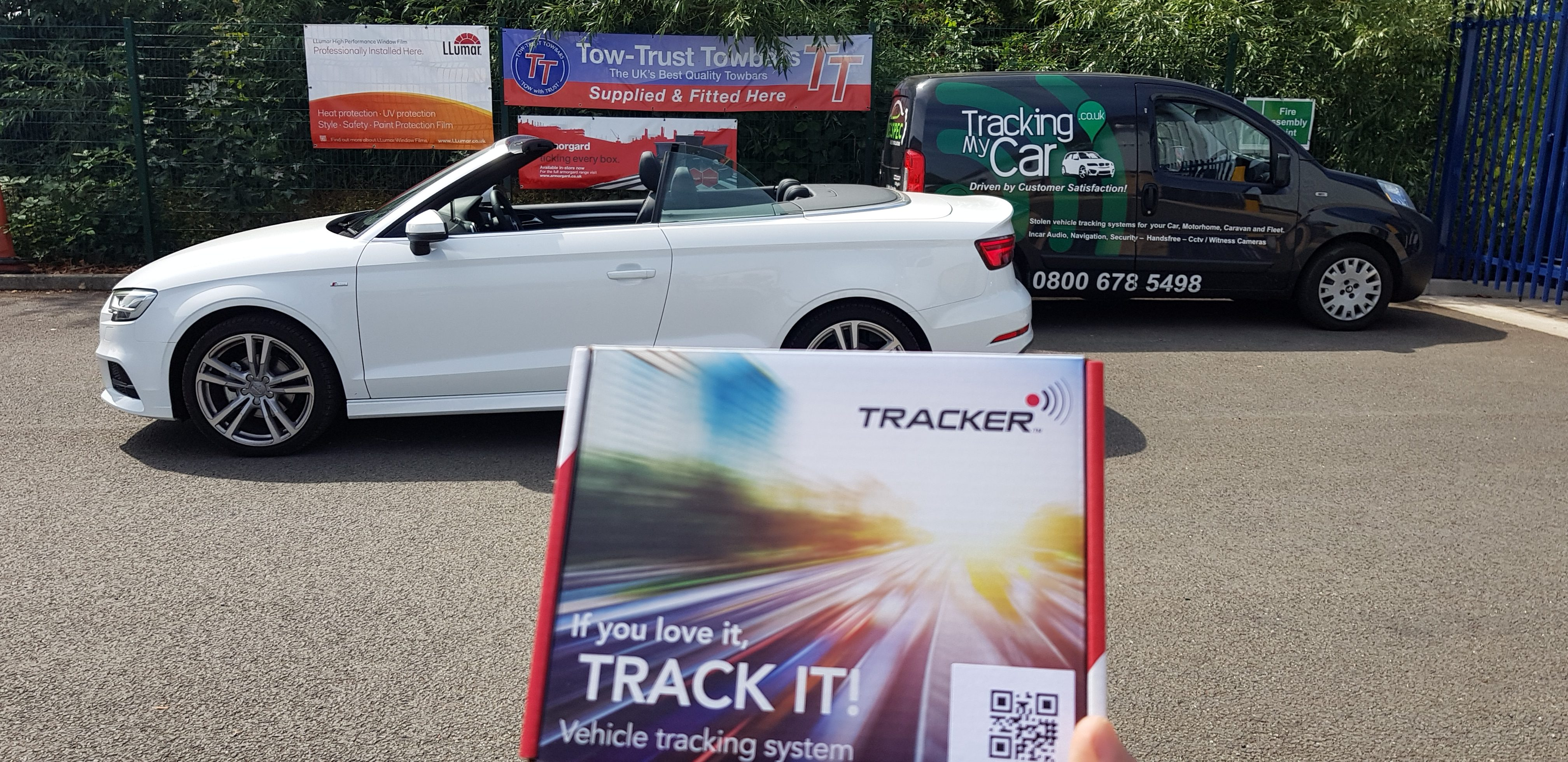 Tracker Vantage Plus Category S5