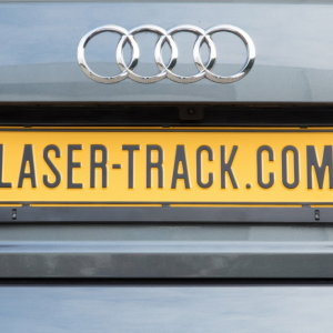 Laser Track Flare - Dual head Numberplate Accessory